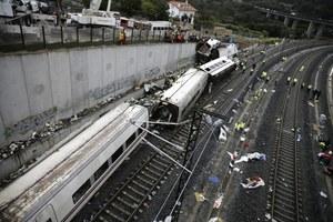 Moment katastrofy pociągu. Dramatyczne nagranie
