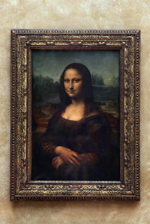 """""""Mona Lisa"""" Leonarda da Vinci /JEAN-PIERRE MULLER /AFP"""