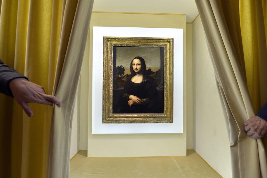 """""""Mona Lisa"""" Leonardo da Vinci /MARTIAL TREZZINI /PAP/EPA"""