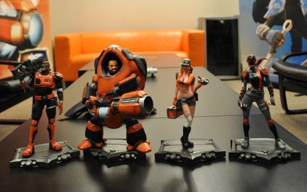 Monday Night Combat - zdjęcie figurek przedstawiających bohaterów z gry /Informacja prasowa