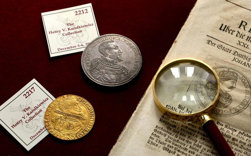 Monety Zygmunta III Wazy /materiały prasowe