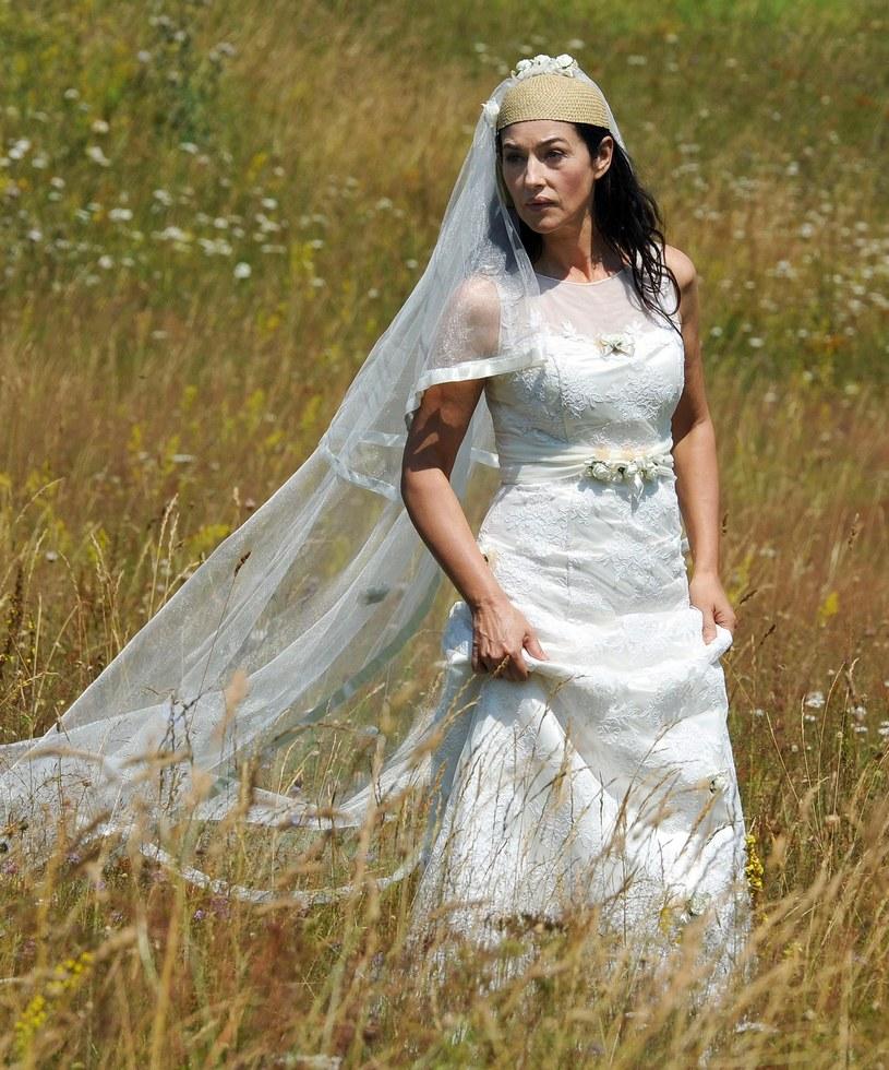 """Monica Bellucci na planie filmu """"Na mlecznej drodze"""" /AFP"""