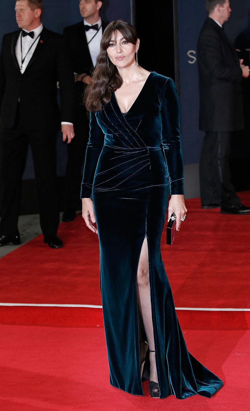 "Monica Bellucci na premierze filmu ""Spectre"" o przygodach Jamesa Bonda /John Phillips    /Getty Images"