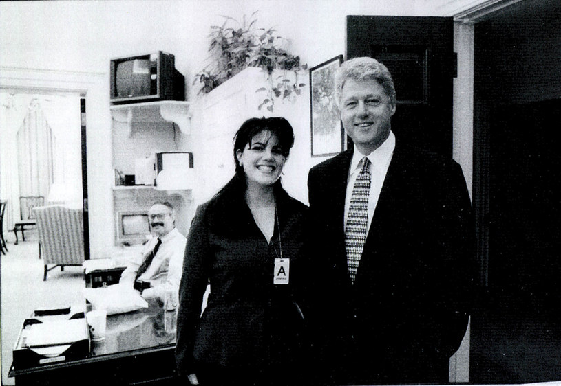 Monica Lewinsky i Bill Clinton /Getty Images