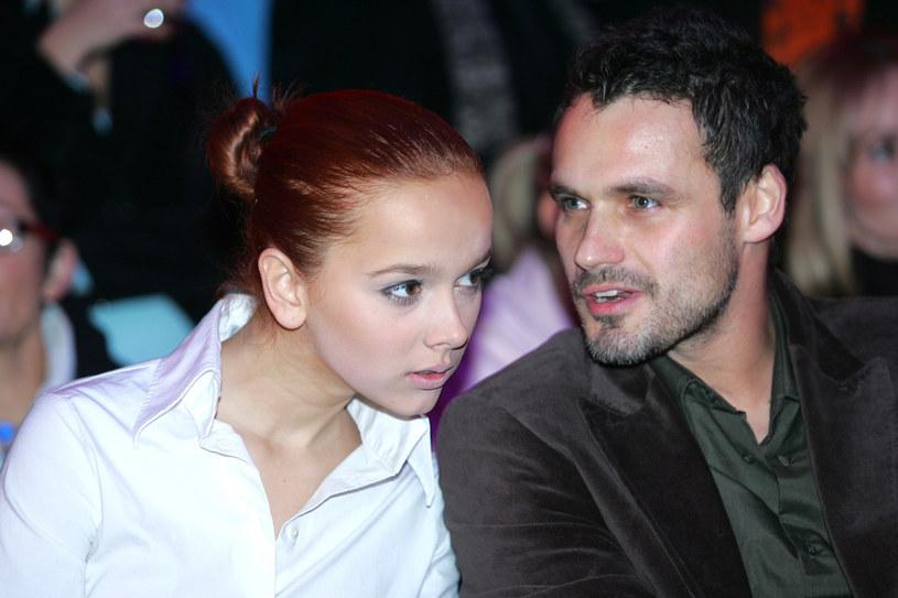 Monika Brodka i Jan Wieczorkowski, styczeń 2006 /Warda /AKPA