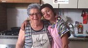 Monika Brodka z włoską babcią
