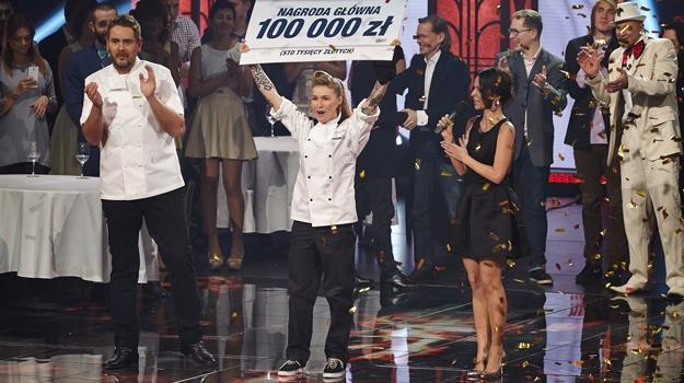 Monika Dąbrowska nie miała sobie równych w drugiej edycji kulinarnego show /Polsat