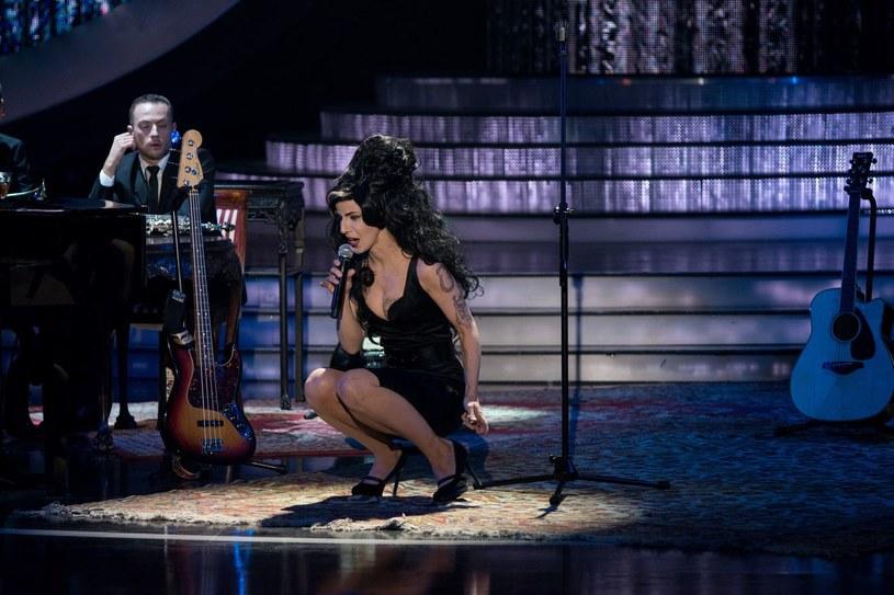 Monika Dryl jako Amy Winehouse /Polsat