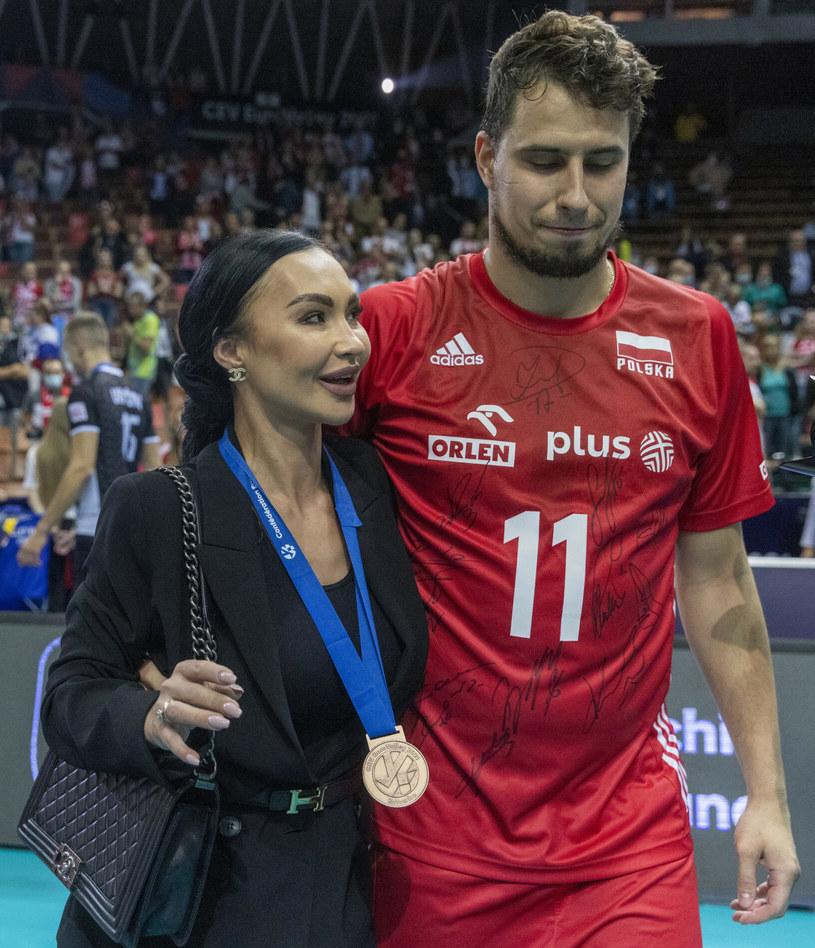 Monika Drzyzga i Fabian Drzyzga /Andrzej Iwańczuk /Reporter