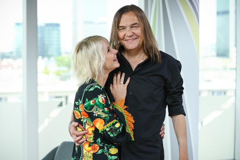 Monika i Robert Gawlińscy są małżeństwem już ponad 30 lat /Kamil Piklikiewicz/DDTVN /East News