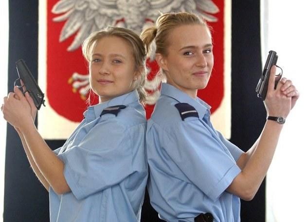 Monika i Urszula Jamka - bycie policjantem to u nich rodzinne/fot. Wojciech Traczyk /Agencja SE/East News
