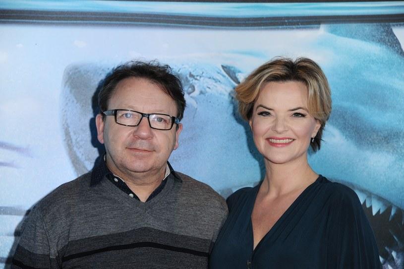 Monika i Zbigniew Zamachowscy są małżeństwem od 2014 roku /Artur Zawadzki/REPORTER /East News