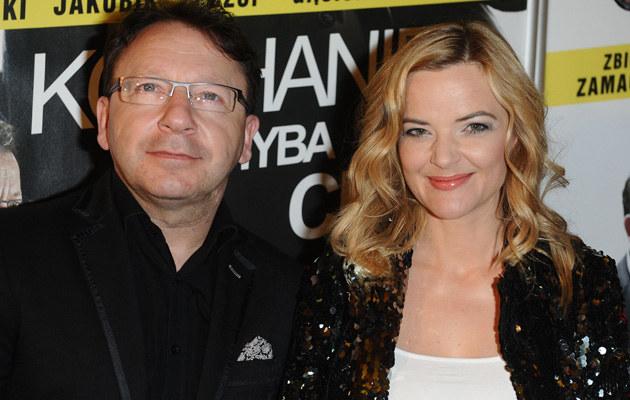 Monika i Zbigniew Zamachowscy /Piotr Andrzejczak /MWMedia