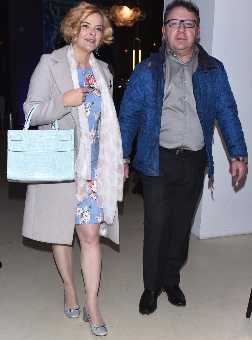 Monika i Zbigniew Zamachowscy /Andras Szilagyi /MWMedia