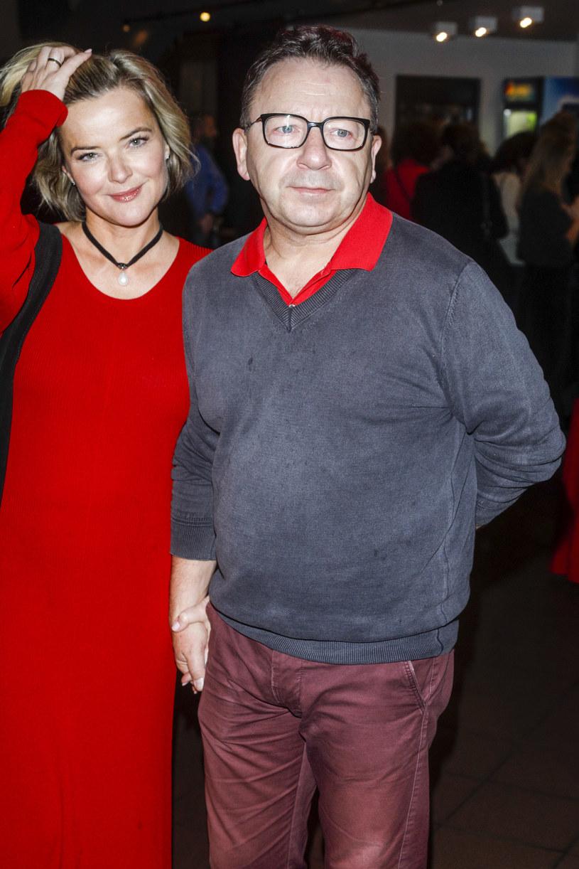 Monika i Zbigniew Zamachowscy /Baranowski /AKPA