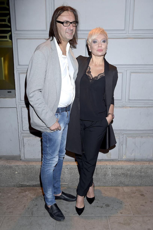 Monika Jarosińska z mężem Robertem / Mieszko Piętka /AKPA