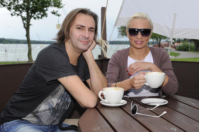 Monika Jarosińska z mężem / Mieszko Piętka /AKPA