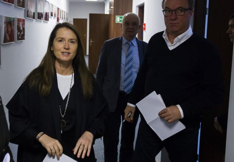 Monika Jaruzelska i Włodzimierz Czarzasty /Krystian Dobuszyński /Reporter
