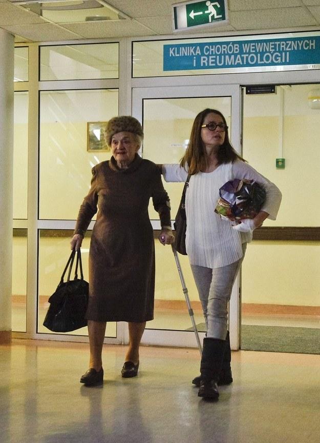 Monika Jaruzelska z mamą Barbarą /Paweł Dąbrowski /East News