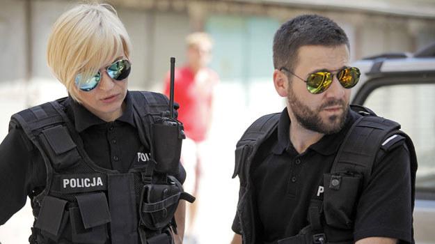 Monika Kownacka (Małgorzata Szapował) i Krzysztof Zapała (Wojciech Sukiennik) /Telus /AKPA