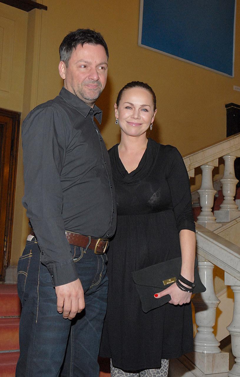 Monika Krzywkowska i Marcin są razem od 20 lat /Marek Ulatowski /MWMedia