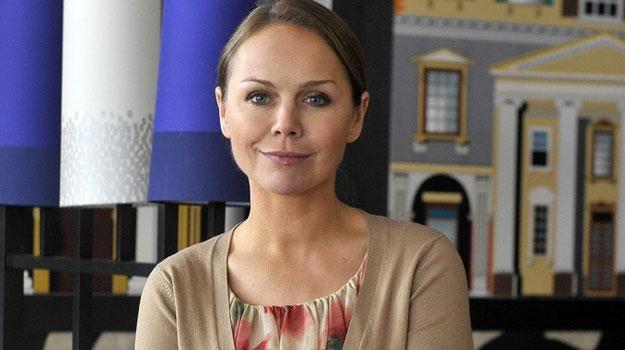 """Monika Krzywkowska na planie """"Hotelu 52"""" /AKPA"""