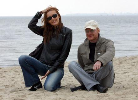 Monika Kuszyńska i Robert Janson (Varius Manx) - fot. Robert Płaczkiewicz /Agencja SE/East News