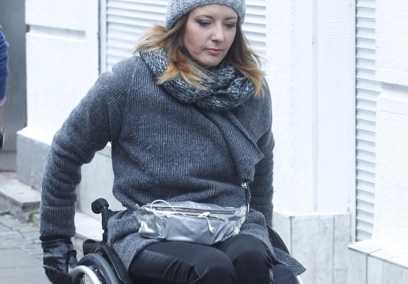 Monika Kuszyńska miała łzy w oczach, gdy Marcin przyszedł z pomocą! /AKPA /AKPA