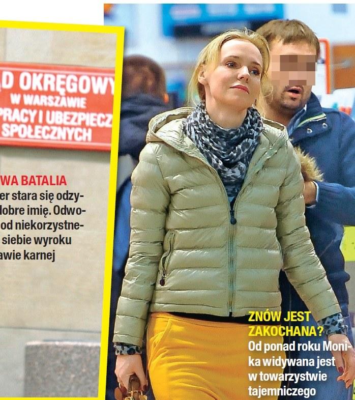 Monika Kwiatkowska z tajemniczym adoratorem (Źródło: Na Żywo) /- /Na żywo