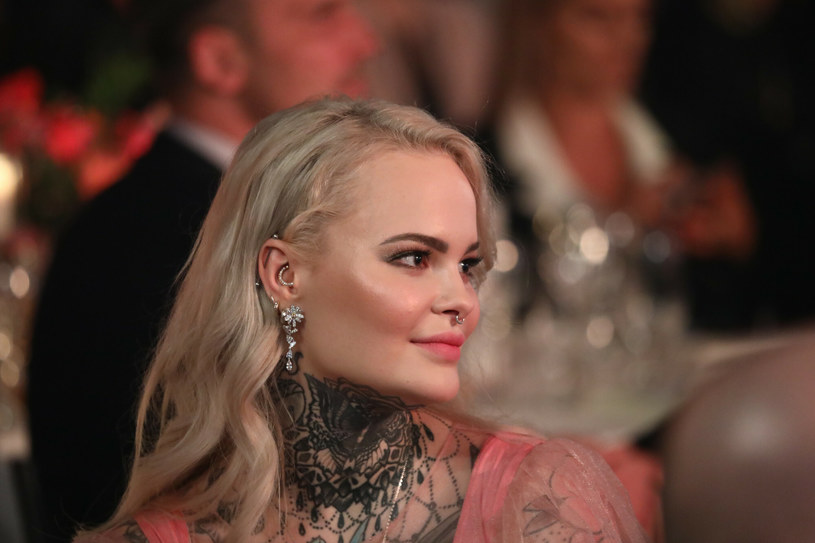 Monika Miller uwielbia eksperymentować z makijażem. Efekty są spektakularne! /Piotr Małecki /East News