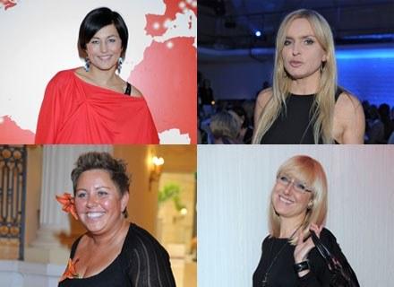 Monika Olejnik, Beata Sadowsk, Dorota Wellman i Agata Młynarska, fot. Andrzej Szilagyi /MWMedia