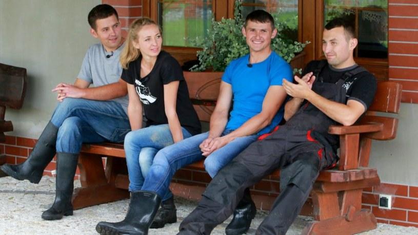 Monika oraz Dawid, Robert i Tomasz /TVN