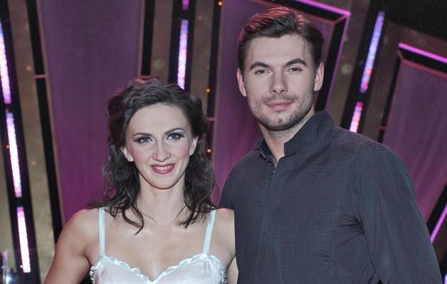 Monika Pyrek i Robert Rowiński, fot.Andras Szilagyi  /MWMedia