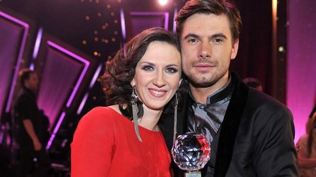 Monika Pyrek i Robert Rowiński z Kryształową Kulą /AKPA