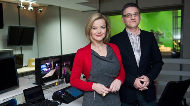 Monika Richardson i Roman Czejarek /fot  /TVN