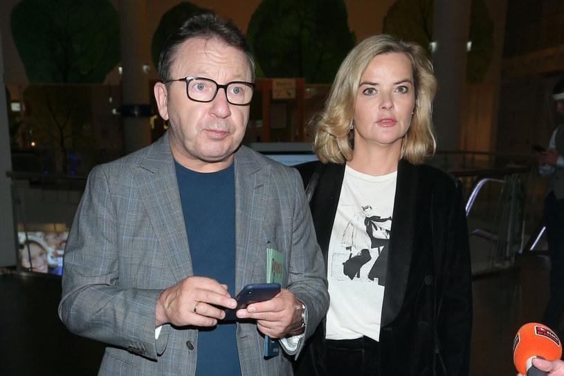 Monika Richardson i Zbigniew Zamachowski byli małżeństwem od 2014 roku /VIPHOTO /East News