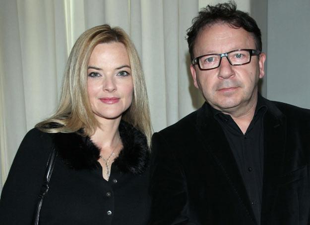 Monika Richardson i Zbigniew Zamachowski /Paweł Wrzecion /MWMedia