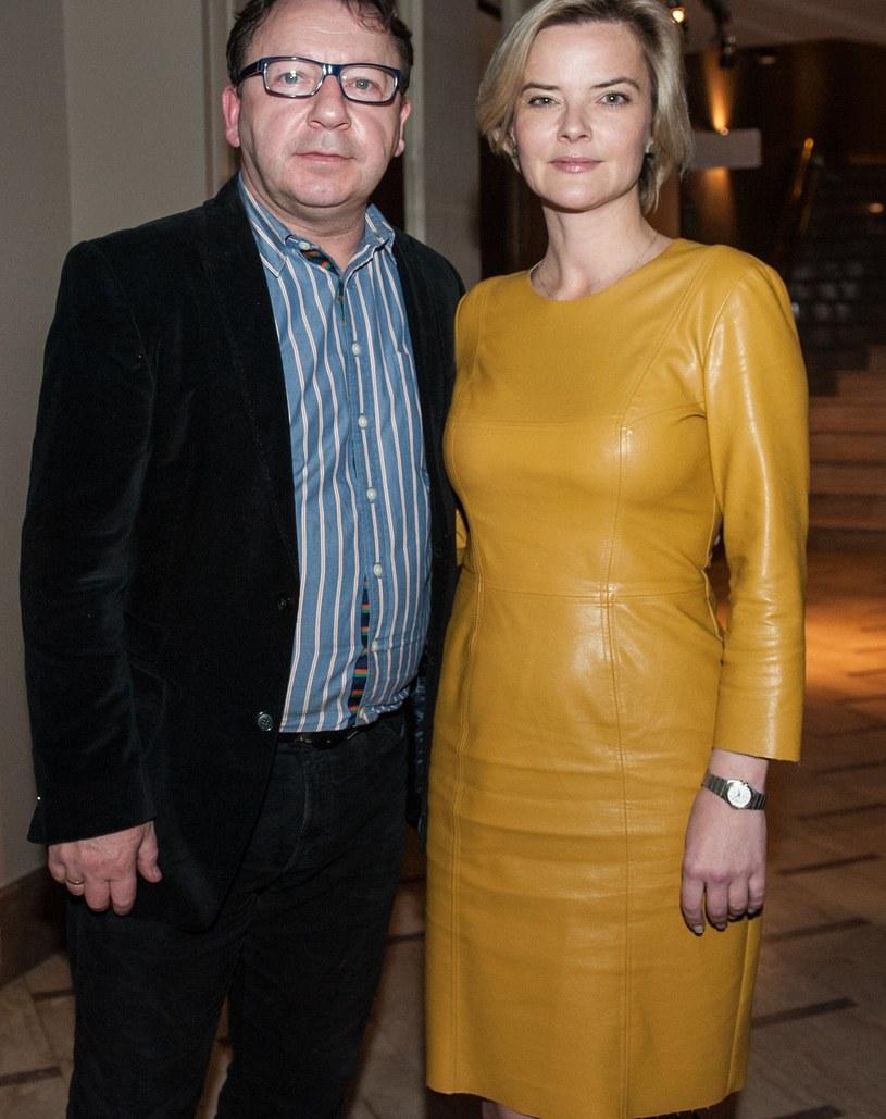 Monika Richardson i Zbigniew Zamachowski / Filip Blazejowski /Agencja FORUM