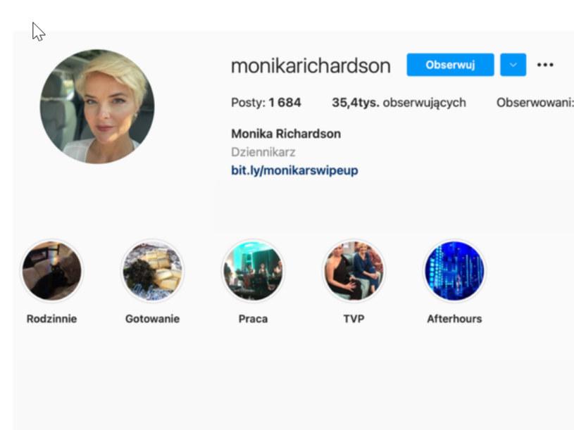 Monika Richardson pozbyła się Zbyszka, fot. https://www.instagram.com/monikarichardson/ /Instagram