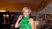 Monika Richardson w zieleni
