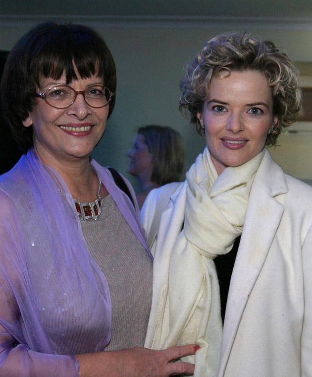 Monika Richardson z mamą /Fotek /Reporter