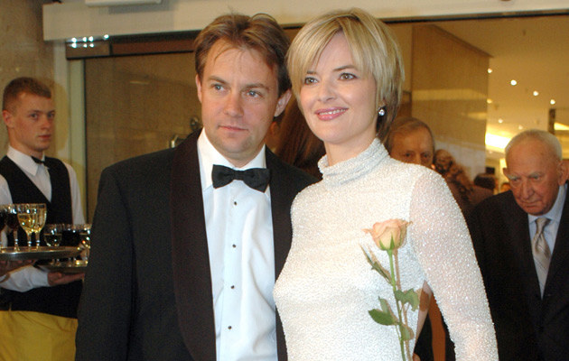 Monika Richardson z mężem, fot. Marek Ulatowski  /MWMedia