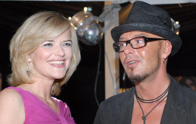 Monika Richardson z Tomkiem Jacykowem, fot. Marek Ulatowski  /MWMedia