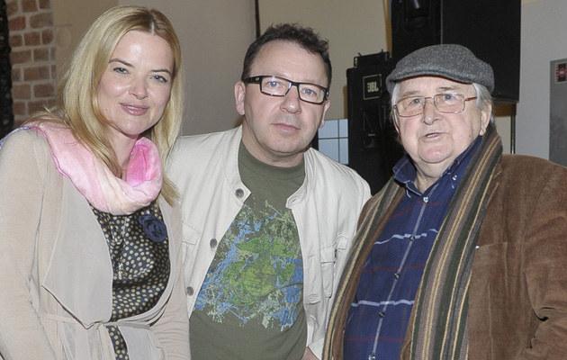 Monika Richardson, Zbigniew Zamachowski, Kazimierz Kutz /Kurnikowski /AKPA