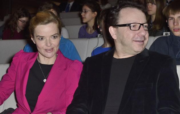 Monika Richardson, Zbigniew Zamachowski /Jarosław Antoniak /MWMedia