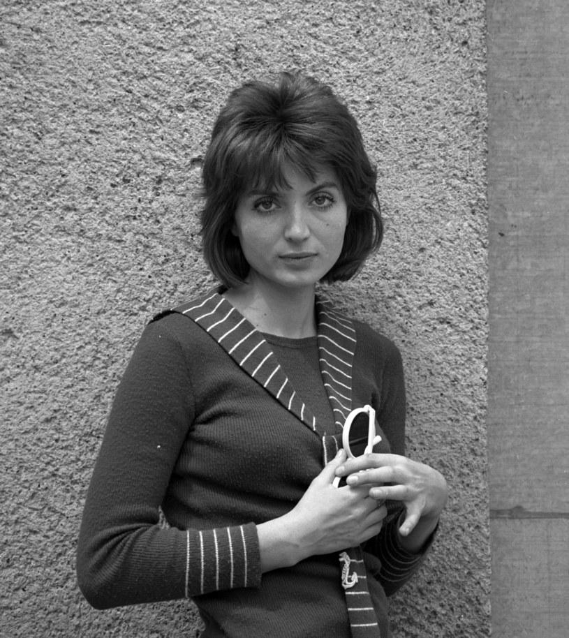 Monika Sołubianka, 1974 rok /Jerzy Plonski /Agencja FORUM
