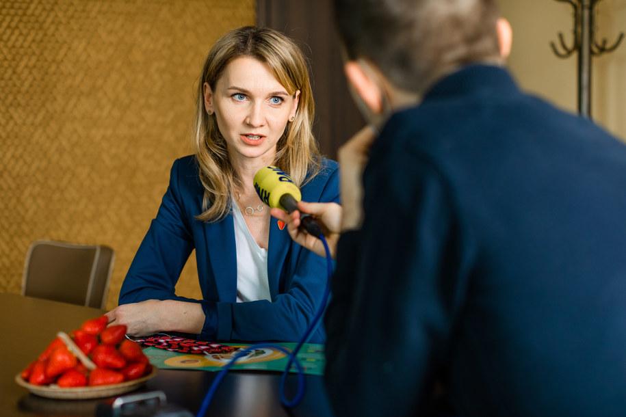 Monika Stromkie-Złomaniec podpowiada jak powinna wyglądać dieta maturzysty /fot. Krajowy Związek Grup Producentów Owoców i Warzyw /RMF FM