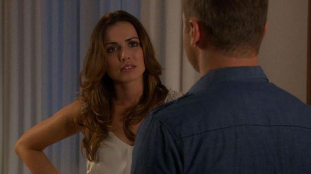 Monika wykorzysta szansę na rozwiązanie swoich problemów. Po raz kolejny okłamie Janka. Z miną pełną rozpaczy wyzna mu, że poroniła. /TVN