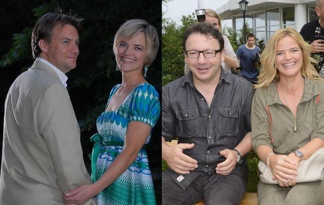 Monika z byłym mężem i obecnym kochankiem /- /MWMedia