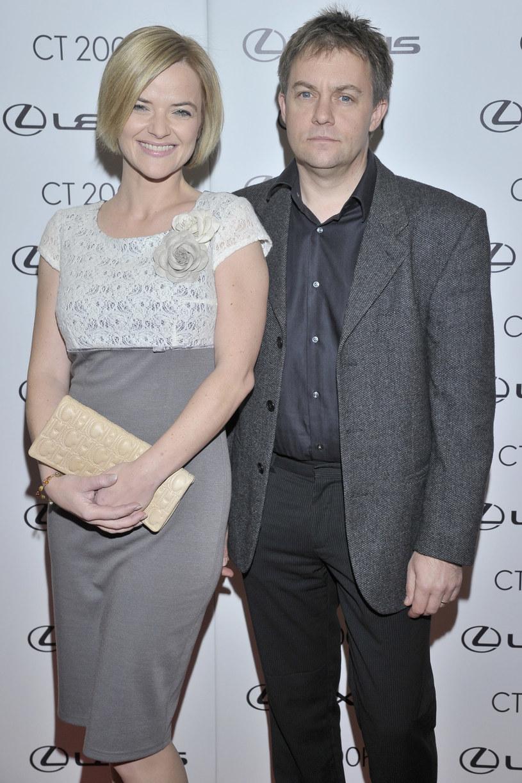 Monika z byłym mężem, Jamiem /Baranowski /AKPA